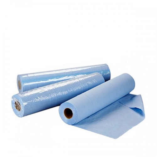 Сини еднократни чаршафи на ролка TNT - 50 м размер 60 см или 70 см