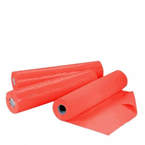 Червени еднократни чаршафи на ролка TNT - 50 м с ширина 60см или 70см