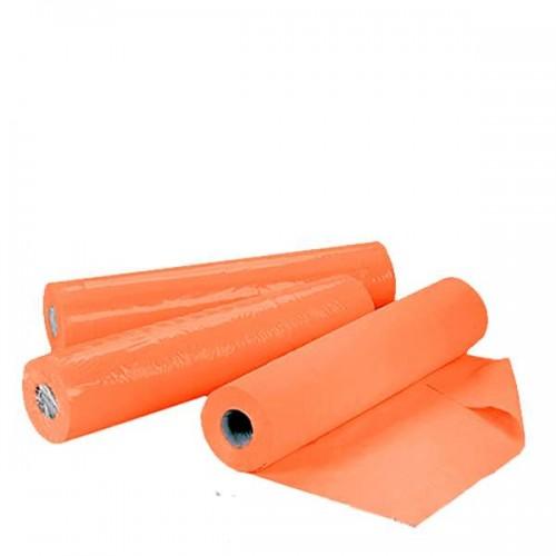 Оранжеви еднократни чаршафи на ролка TNT - 50 м в размер 60 см или 70 см