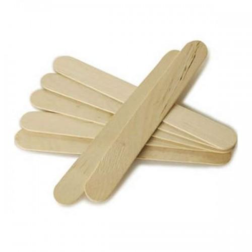 Дървени шпатули за кола маска - 100 бр