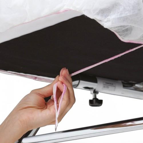 Непромокаеми еднократни чаршафи с ластик - 10 бр.