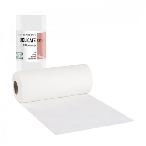 Кърпи на руло от двупластова хартия Softcare