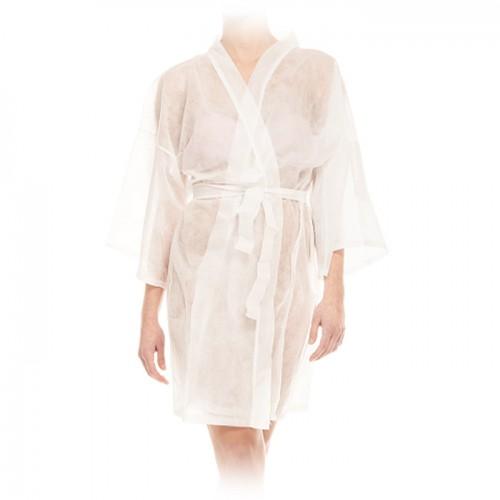 Еднократно кимоно за козметични и СПА процедури