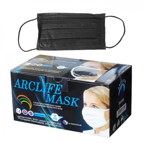 Трислойни медицински маски в кутия от 50 броя, Arclife mask