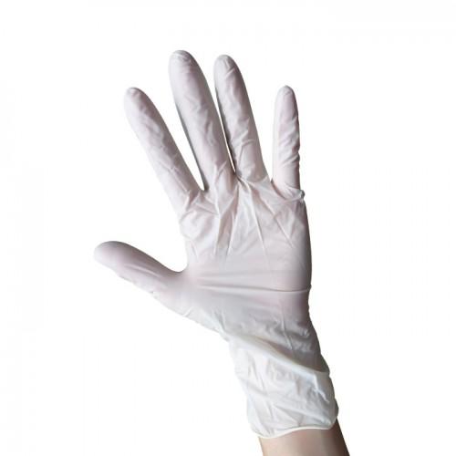 Еднократни ръкавици от латекс с талк Mumu, 100 бр.