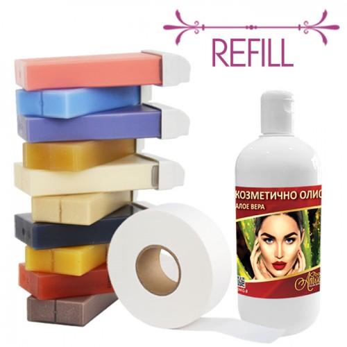 Комплект за епилация - Refill