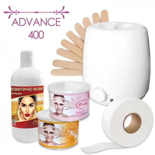 Професионален пакет за епилация с кола маска Advance 400