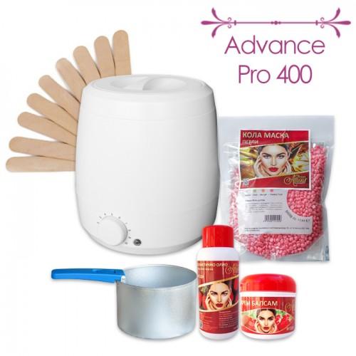 Пакет за епилация с кола маска на перли Advance Pro 400
