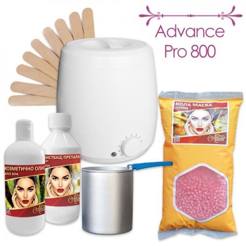 Пакет за епилация с кола маска на перли Advance Pro 800
